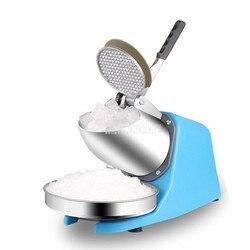 Małe Mini gospodarstwa domowego elektryczna automatyczna kruszarka do lodu ekspres do DIY deser maszyna do lodów Sorbet sokowirówka Maker
