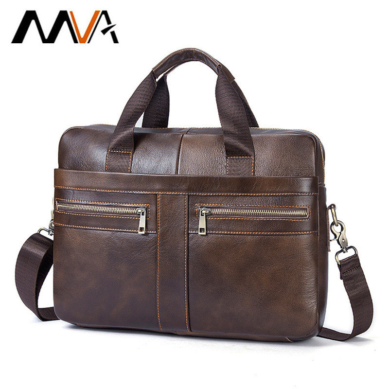 New HotSale! Genuine Leather Men Bag Men Messenger Bags Shoulder Crossbody Bags Men's Briefcase Handbags Leather Laptop Bag Male top power men bag fashion genuine leather men crossbody shoulder handbags men s briefcase men bags double bag messenger bag male