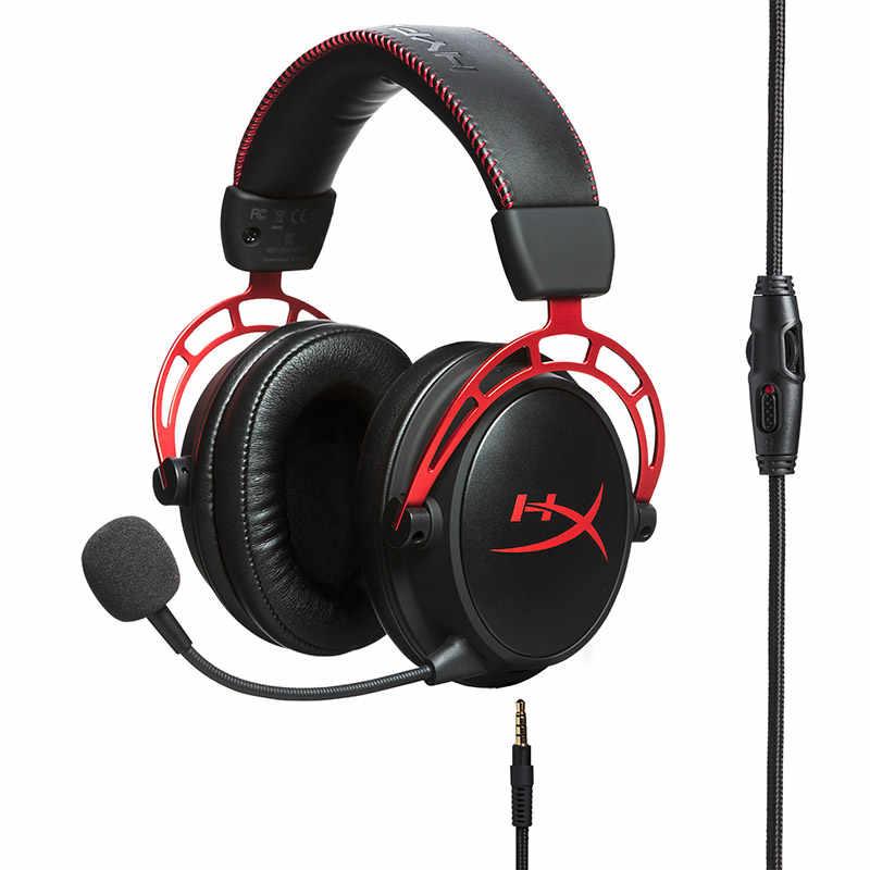 Kingston HyperX chmura alfa edycja limitowana E-zestaw słuchawkowy dla aktywnych z mikrofonem gamingowy zestaw słuchawkowy dla PC PS4 Xbox komórkowy