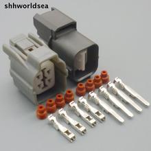Shhworldsea 5/30/100 Декодер каналов кабельного телевидения 2,0 мм 4-гнездовой соединитель для honda Accord S2000 2.0L F20C ВТИ-R 2.2L H22A O2 штекер для датчика кислорода