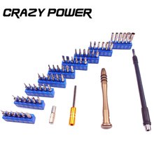 CRAZY POWER 57 In 1 Precision Electron Torx MIni Magnetic Screwdriver Set Hand Tools Kit Opening Repair PC iPhone Laptop Tools