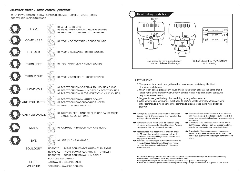 AT Robot User Manual 2