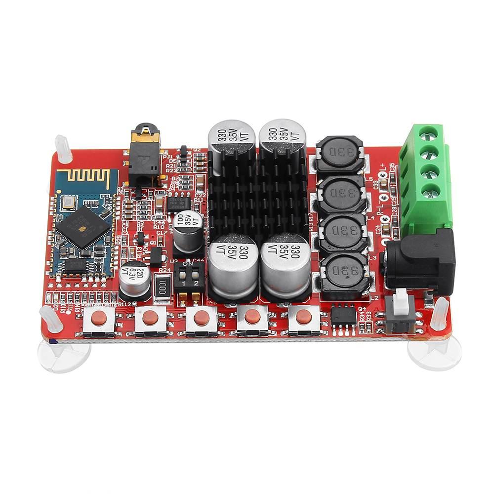 LEORY 50 Вт + 50 Вт TDA7492 CSR8635 беспроводной bluetooth 4,0 аудио приемник усилитель плата NE5532 Preamp DC 8-25 в