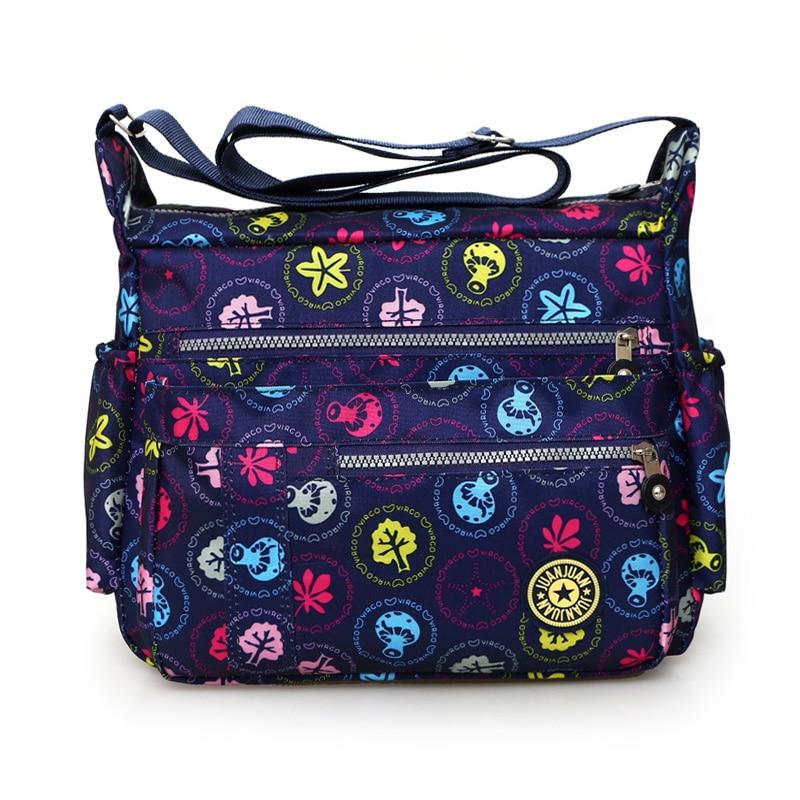 Novo 2017 moda feminina bolsa de ombro Lavado pano saco crossbody estilo Rural lazer floral bag mulheres bolsa de viagem pacote barato