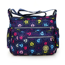 New 2017 womens fashion shoulder bag Washed cloth crossbody Rural style floral leisure women travel cheap