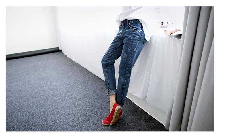 17 New Fashion Autumn Style Women Jeans Elastic Harem Denim Pants Jeans Slim Vintage Boyfriend Jeans for Women Female Trousers 9