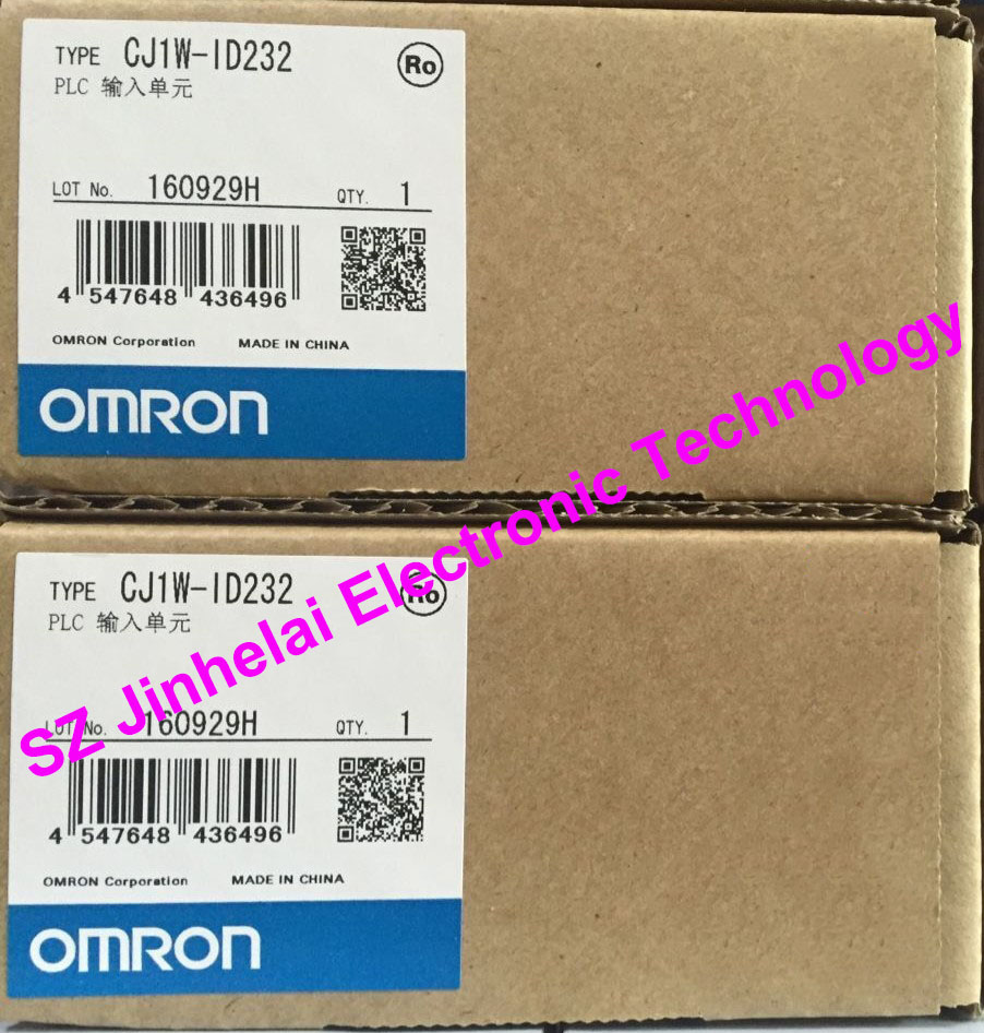 New and original CJ1W-ID232  OMRON PLC Input unit new and original e3x da11 s omron optical fiber amplifier photoelectric switch 12 24vdc