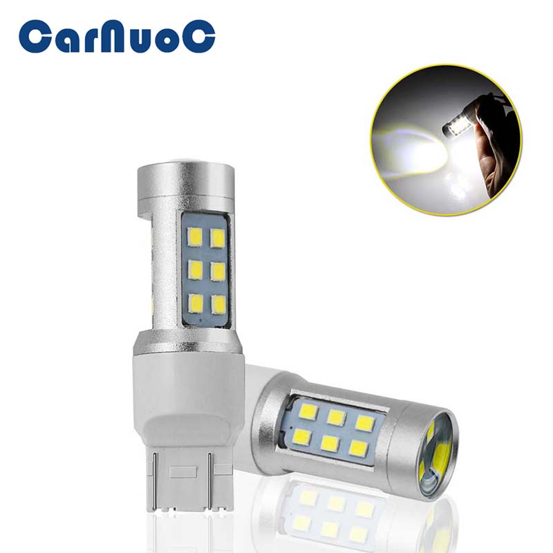 12V White 7443 15W Canbus No Error T20 Bulb Daytime Running <font><b>Tail</b></font> Stop <font><b>Light</b></font> 2835 21SMD <font><b>LED</b></font> Auto <font><b>Tail</b></font> <font><b>Lights</b></font> for <font><b>Mazda</b></font> <font><b>6</b></font> CX-7 image