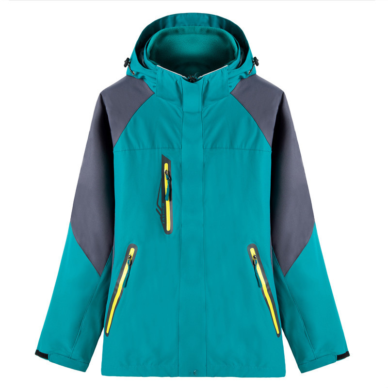Veste de Ski hommes femmes hiver Sports de plein air randonnée imperméable polaire cyclisme coupe-vent vestes femme mâle grande taille manteau chaud - 6