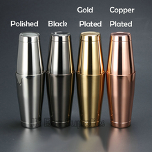 Kostenloser Versand Edelstahl Boston Shaker mit 5 verschiedenen Oberfläche-2 Stück Cocktail Shaker, 15-Ounce und 25-Ounce