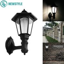 LED Wall Solar Lamp Outdoor Waterproof IP55 Solar Light  0.5W Garden Yard Light White/Warm White Lawn Lights