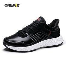64d6fb39 ONEMIX hombres zapatos para correr de mujer Max agradable Retro gimnasio  entrenadores deportivos negro Zapatillas Zapatos