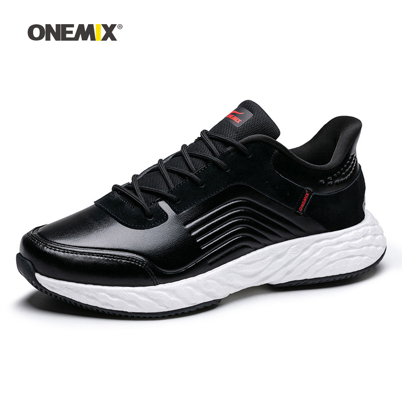 ONEMIX Men Running Shoes For Women Max Nice Retro Gym Athletic Trainers Black Zapatillas Sport Shoe