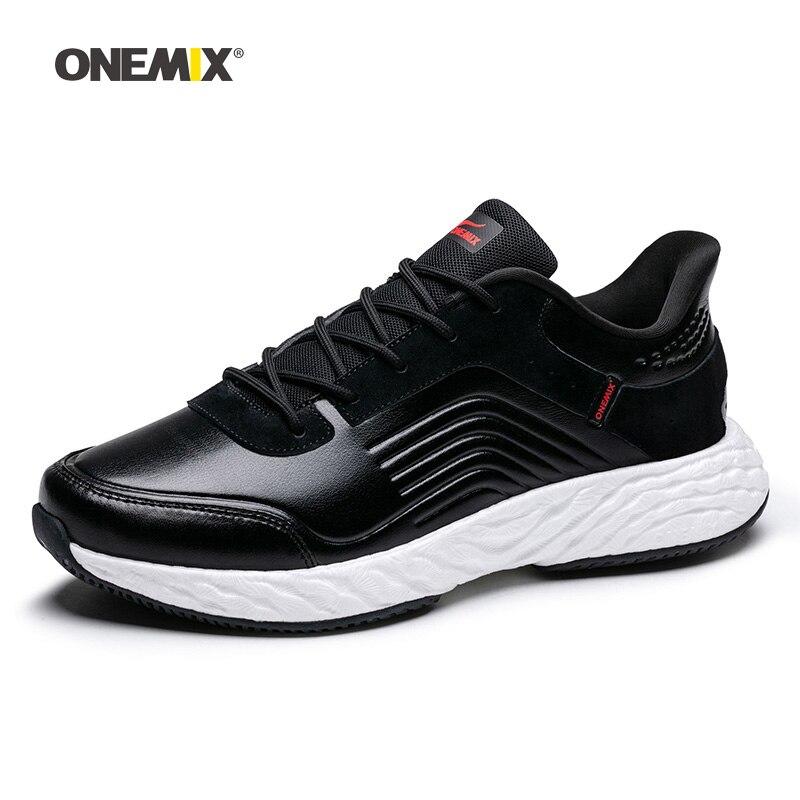 ONEMIX hommes chaussures de course pour femmes Max Nice rétro Gym athlétique formateurs noir Zapatillas Sport chaussure homme extérieur marche baskets