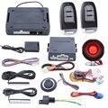 Chave inteligente sistema de alarme de segurança do carro com entrada de keyless passiva PKE push start stop automático identificar o proprietário saída da janela de poder