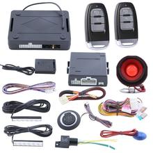 Smart Key ПКЕ автомобильная охранная сигнализация с пассивный вход без ключа кнопка старт стоп автоматическая владелец определить мощность выходного окна