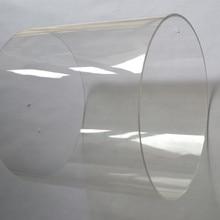 2 шт акриловая прозрачная трубка OD200X3X1000MM водопроводная труба аквариум ПММА строительные трубы Perspex технологический материал может разрезать в любой размер