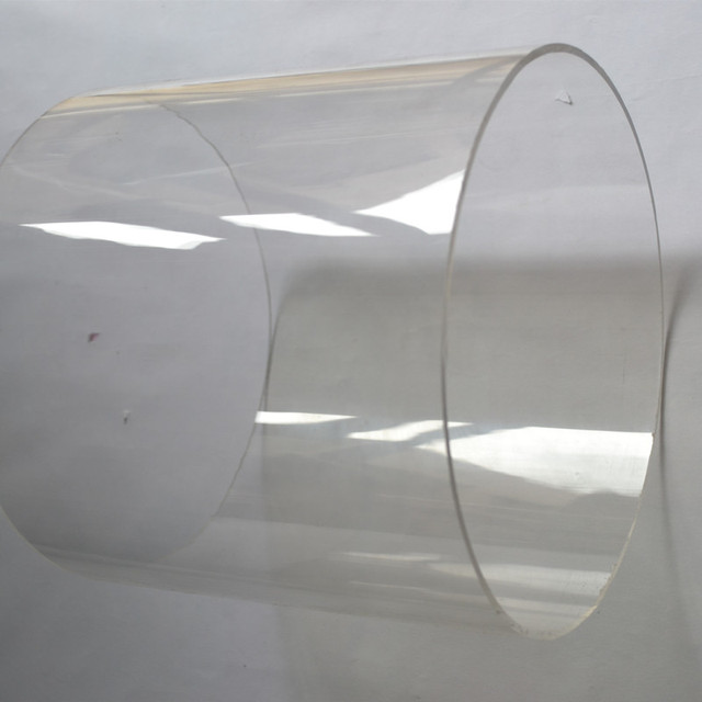 2PCS OD200X3X1000MM Acrylic Clear Tube Water Pipe Aquarium PMMA Building Tube Perspex Process Material Can Cutting Into Any Size