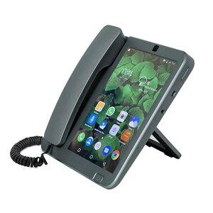 Image 3 - Kaer الذكية 4G اللاسلكية 8 بوصة شاشة كبيرة الهاتف أندرويد 8.1 اللغة الدولية والتطبيقات التحكم عن بعد هاتف ذكي