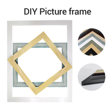 40x50cm Photo Frame Wooden Family Picture Photo Frame Wall Mural Rahmen Home Wedding Sticker Decal Decor Drop shipping Big Size art photo frame picture frame 3 size wooden mounted ornament decor home