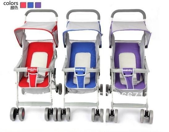 Seebaby baby QQ2 light baby stroller mesh chair
