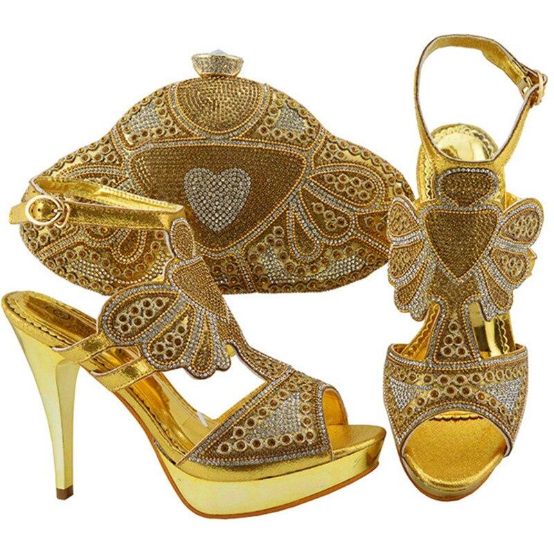 4cb2ddbc0893a Zapatos Alto De Para Oro Fiesta azul Y púrpura rojo Marino Bolsos Boda En  Elegantes Último ...