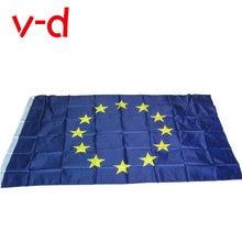Бесплатная доставка xvggdg 3x5 fts Европейский Союз Флаг ЕС