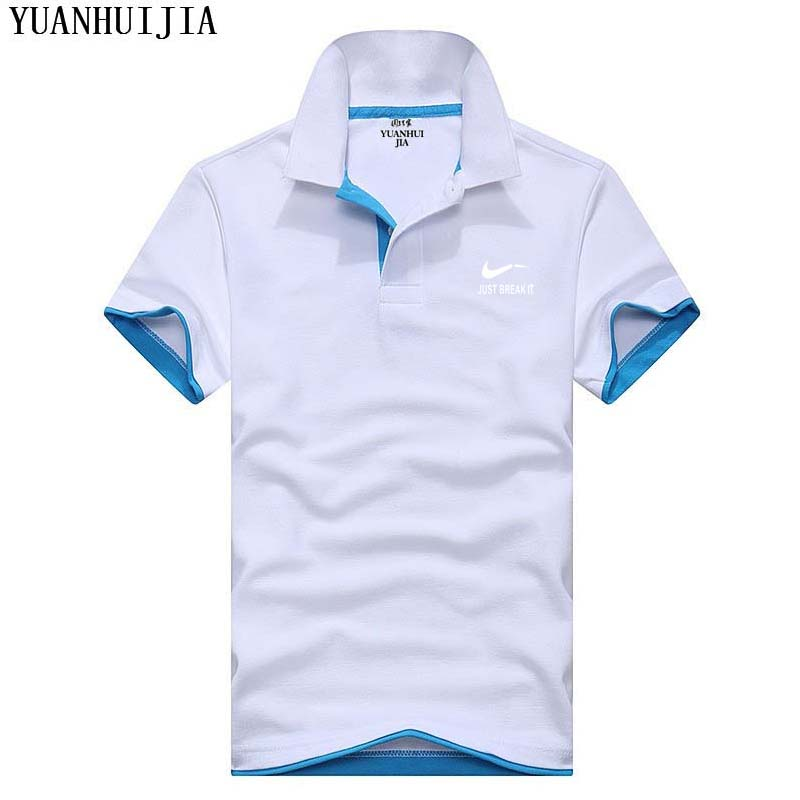 New 2018 Men   polo's   shirt brand men   Polo   shirt Men/women solid cotton short-sleeved   polo   shirt men Business shirt XS-3XL