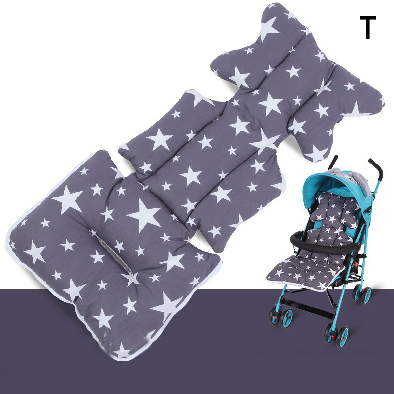Hot Selling Printed Stroller Cushion Seat Cover Cotton Baby Stroller Mat Mattress Strollers Accessories