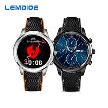 LEMDIOE LEM5 Android 5.1 OS Smart Watch MTK6580 1GB / 8GB Bluetooth 4.0 WIFI 3G Smartwatch Support Nano SIM Card GPS