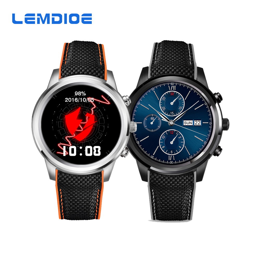 New LEM5 Android 5.1 OS Smart Watch MTK6580 1GB / 8GB Bluetooth 4.0 WIFI 3G Smar