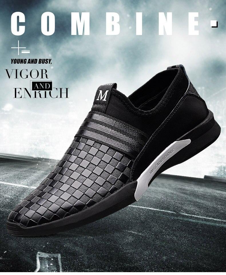 02a21d48a6 Times New Roman moda hombres zapatillas desgaste cómodo para caminar ...