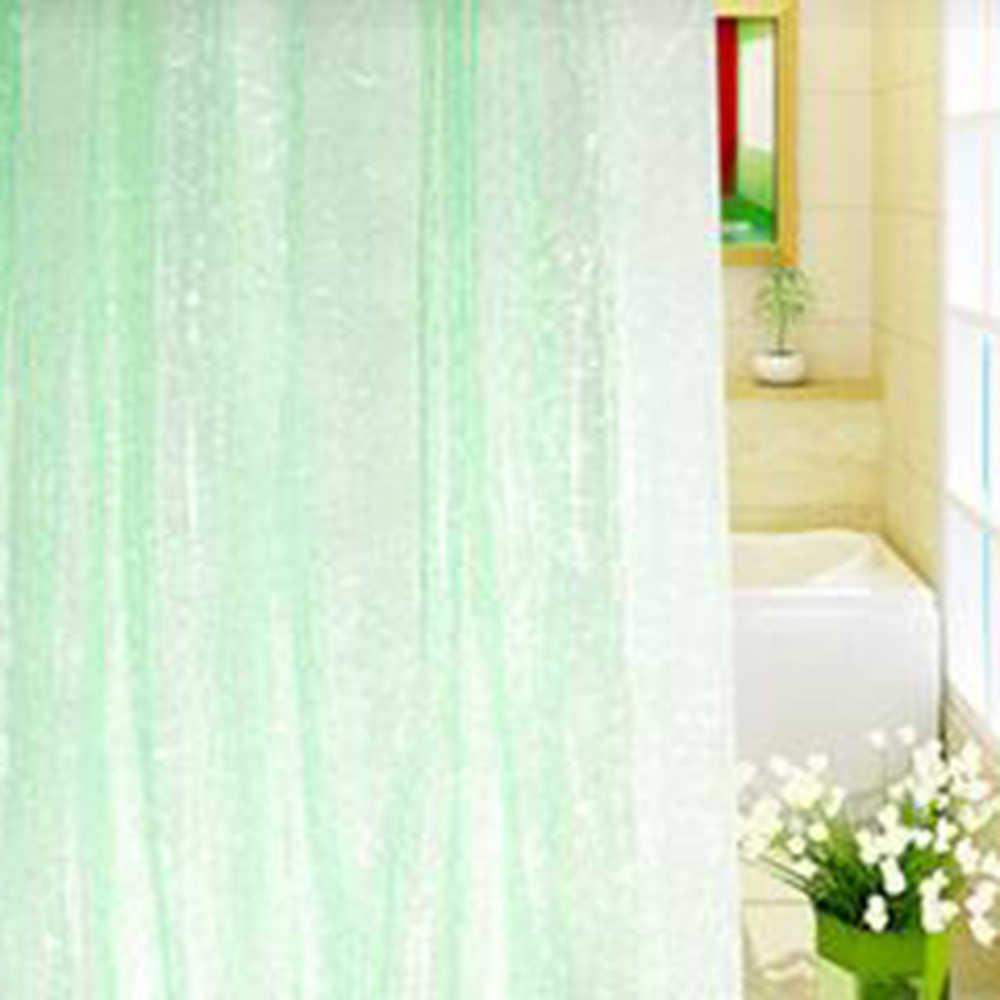 1.8*1.8m Moldproof Waterdichte 3D Verdikte Badkamer Bad Douche Gordijn Milieuvriendelijke Wit Beste Prijs