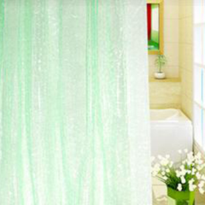 Image 3 - 1.8*1.8m Moldproof Waterproof 3D Thickened Bathroom Bath Shower Curtain Eco friendly White Best Price