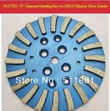 10 ''MK Diamant Beton Schleifscheibe Kopf Platte für EDCO Blastrac betonschleifer | 250mm Zement schleifscheibe | 20 segmente