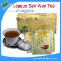 3 Box=75 Bags clearance sale Anti-aging San Way Slimming Oolong Black low blood sugar, diuretic, antibacterial, bright eye tea