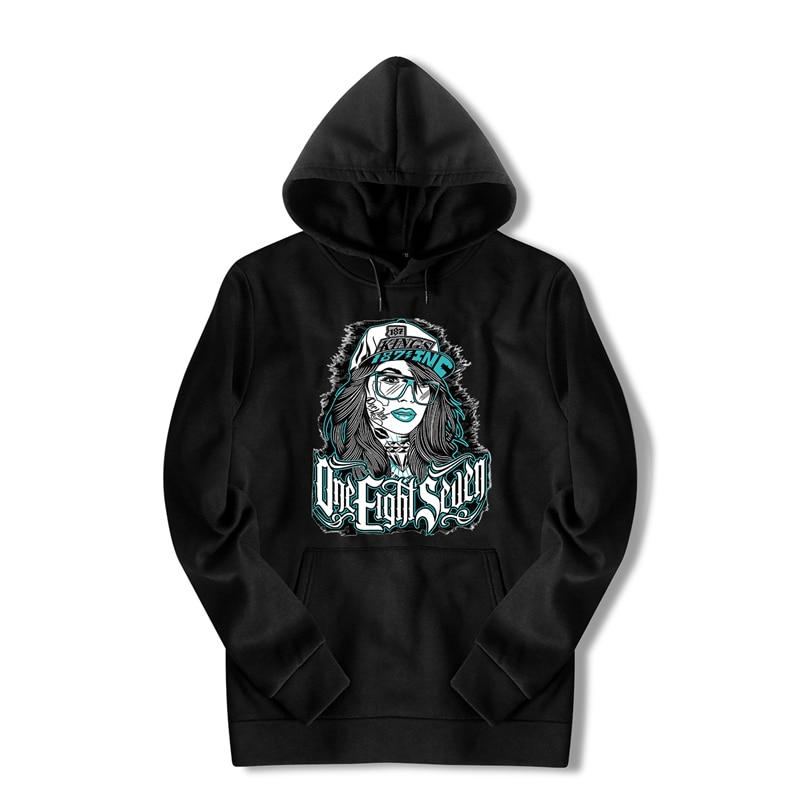 С капюшоном индийские принтом Bape толстовка белый Harajuku уличная негабаритных Прохладный хип-хоп худи Черный Аниме длинная куртка Для мужчин ...