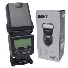 Meike MK-430 MK430 TTL Flash Speedlite for Canon 430EX II EOS 5D III 6D 60D 450D 500D 550D 600D 650D 700D 1000D 1100D