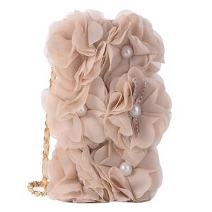 Image 5 - Rosa Telefon Tasche Für iPhone X schöne Perle Rose Blume Leder Handtasche Flip brieftasche Voller Fall abdeckung Für iPhone 7 8 6 6 S Plus 5 S SE