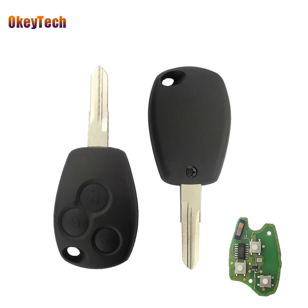 Flip Remote Car Key 315 Mhz For Landrover Lr3 Range Rover Sport Hu92 Land 2005 Wiring Diagrams Okeytech 3 Buttons Fob 433mhz Pcf 7946 Chip Replacement Auto Control