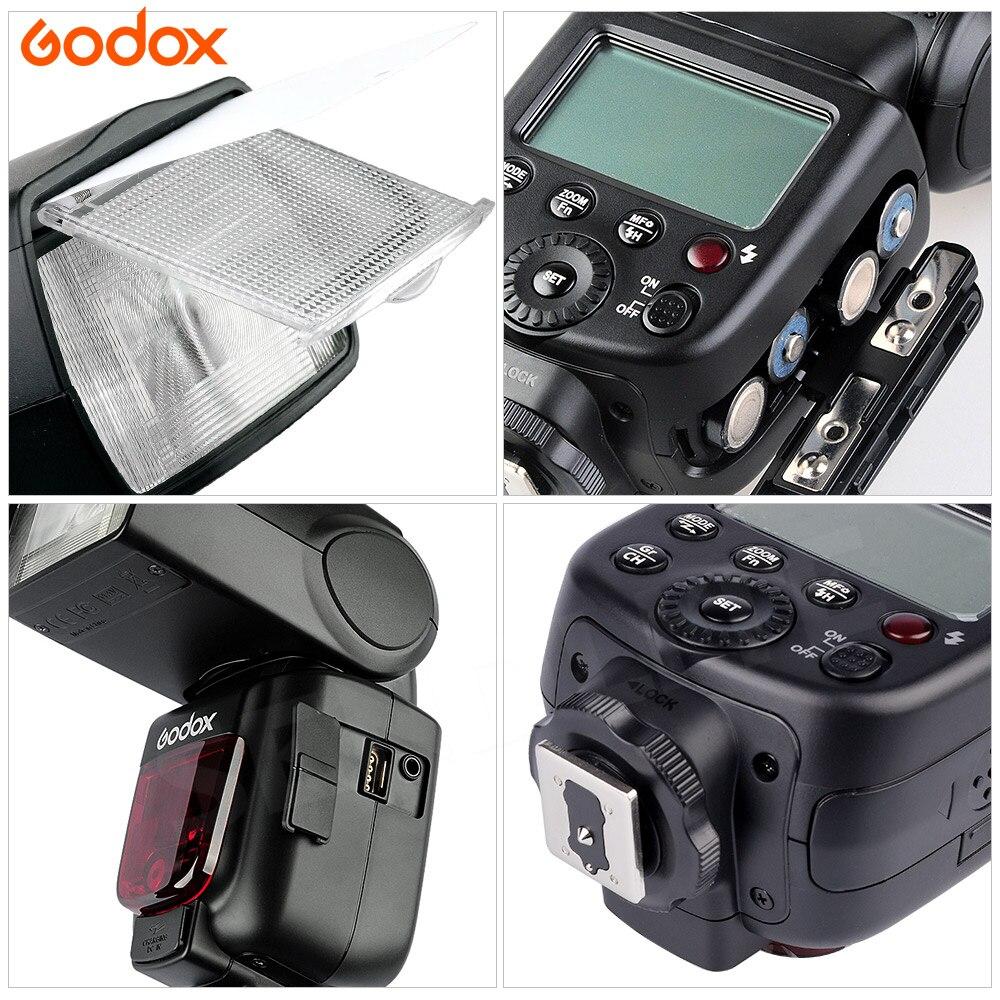 Godox TT600 Camera Flash Speedlite 2.4G Wireless Master Slave TTL HSS High Speed for Olympus om-d e-m10 mark ii DSLR Cameras