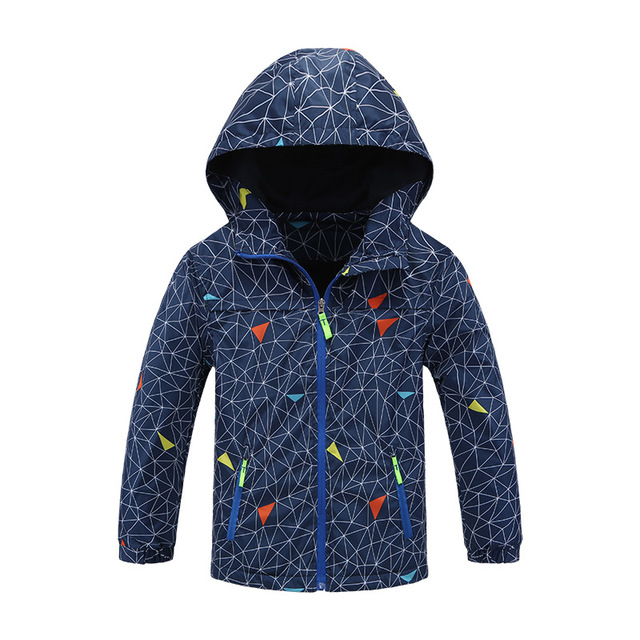 New Fashion Spring Autumn Children Outerwear Jackets Sport Kids Coats Double-deck Waterproof Windproof Boys Brand Jackets