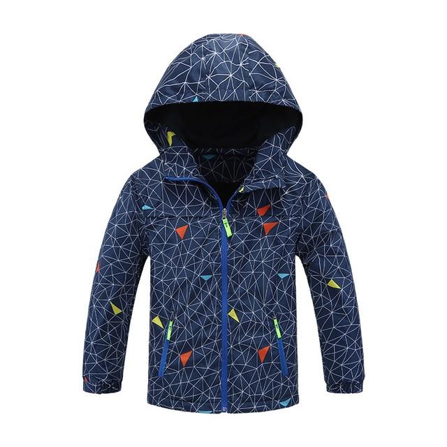 New Fashion Spring Autumn Children Outerwear Jackets Sport Kids Coats Double-deck Waterproof Windproof Boys Brand Jackets