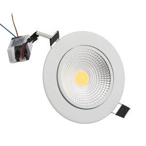 Image 4 - Сверхъяркий Светодиодный точечный светильник с регулируемой яркостью, точечный светильник с COB матрицей, 5 Вт, 7 Вт, 9 Вт, 12 Вт, Встраиваемый светодиодный точечный светильник, лампочки для внутреннего освещения