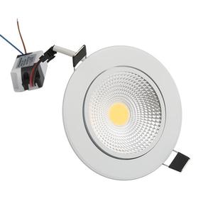 Image 4 - Spot lumineux Led encastrable, éclairage dintérieur, éclairage ultra lumineux, éclairage à intensité réglable, 5/7/9/12W, spot de plafonnier à led COB