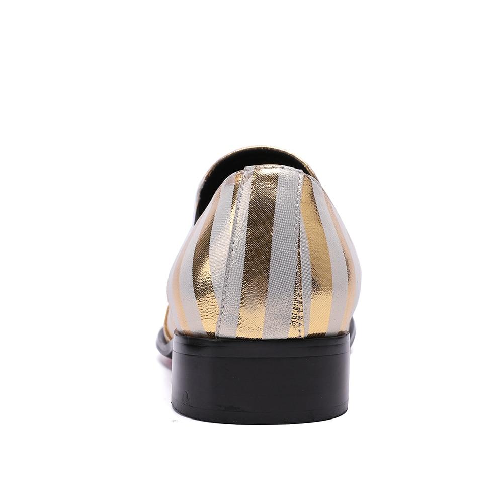 Dos Deslizamento Da Em Casual Marca Bella De Couro Sapatas Genuíno Mens Sapatos Listras Britânico Christia Moda Multi colorido Clube Zebra Estilo Homens fZB7WqCB