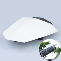 Black / White Motorcycle Rear Pillion Seat Cowl Cover For Yamaha YZF R1 2009 2010 2011 2012 2013 2014 YZFR1 YZF R1 09 14