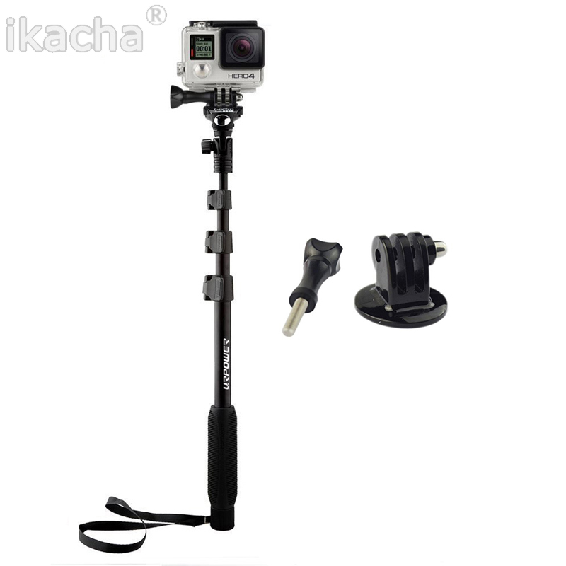 yunteng 188 monopod selfie stick aluminum alloy telescopic pole for xiaomi yi. Black Bedroom Furniture Sets. Home Design Ideas