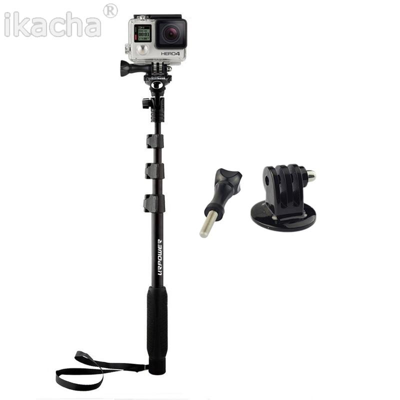 Yunteng 188 Monopod Selfie Stick Aluminum Alloy Telescopic Pole For <font><b>Xiaomi</b></font> <font><b>yi</b></font> GoPro Hero 2 3 3+ 4 Sj4000 Sj5000 Sj6000 Camera