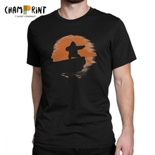 Kung Fu Panda Men T Shirts Orange Inner Peace Fun 100% Cotton Short Sleeve Tees O Neck T-Shirts Adult Tops